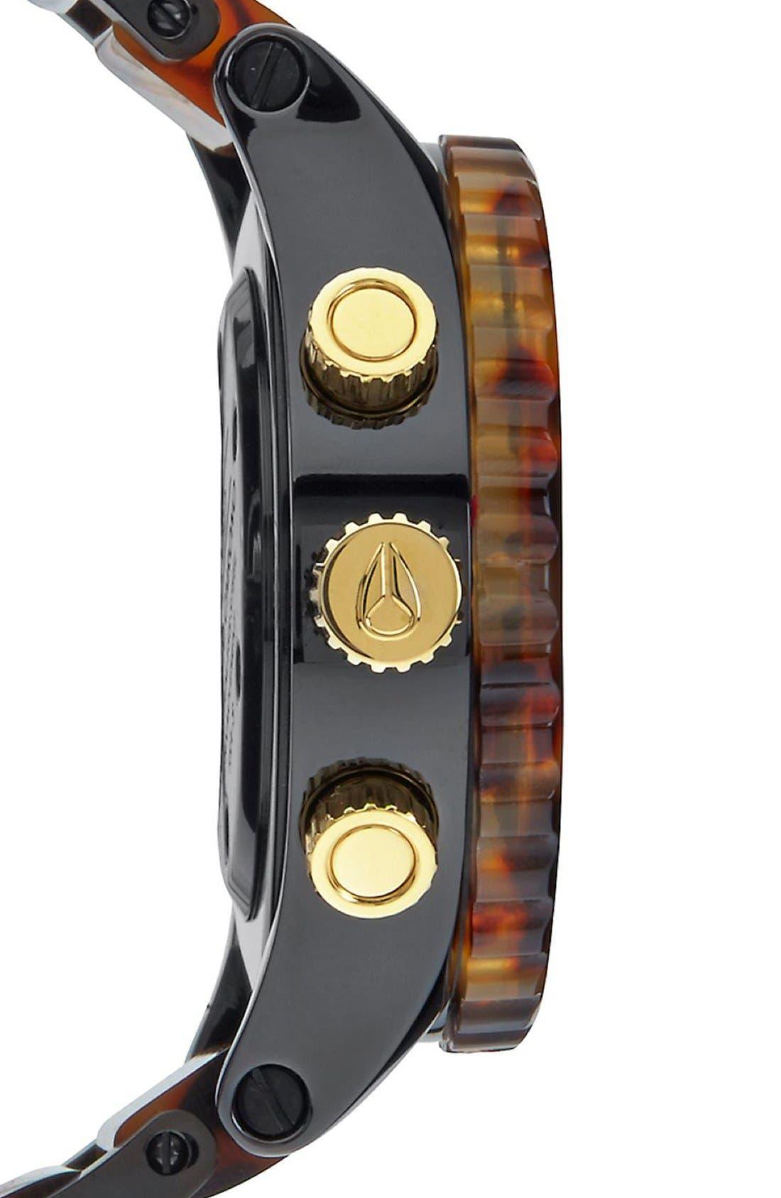 Alternate Image 3  - Nixon 'The 38-20' Extra Large Chronograph Bracelet Watch, 38mm