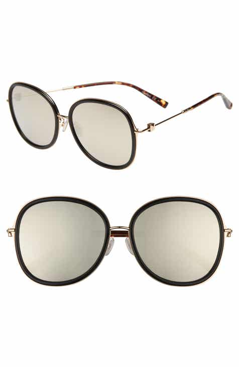 1d7d3c1fa99 Max Mara Marilyn 58mm Special Fit Round Sunglasses