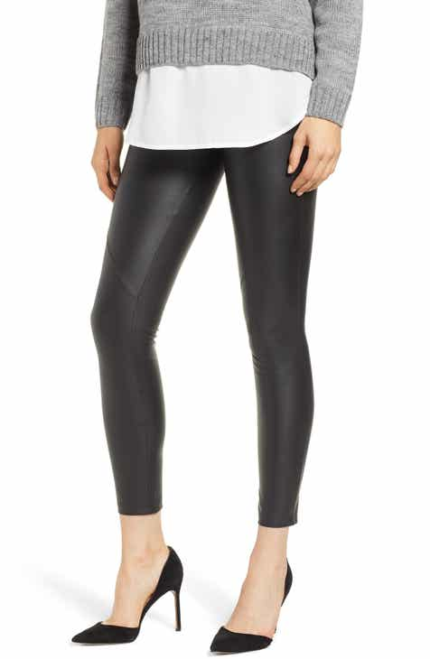 790815c2fcc David Lerner The Bergen Faux Leather Leggings