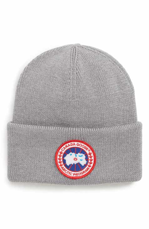 fea3f7bdbd2 Men s Canada Goose Beanies  Knit Caps   Winter Hats