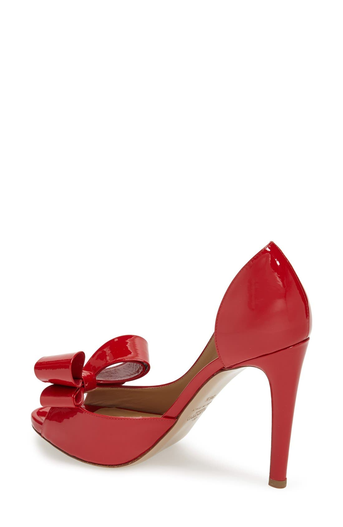 Alternate Image 2  - VALENTINO GARAVANI Couture Bow d'Orsay Pump (Women)