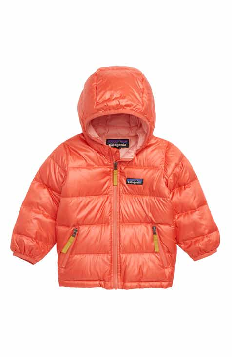 2982b39fd Patagonia Hooded Down Jacket (Baby Girls)