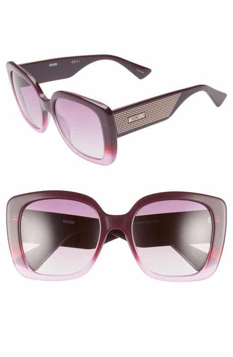 9bf26838cb Moschino 54mm Square Sunglasses