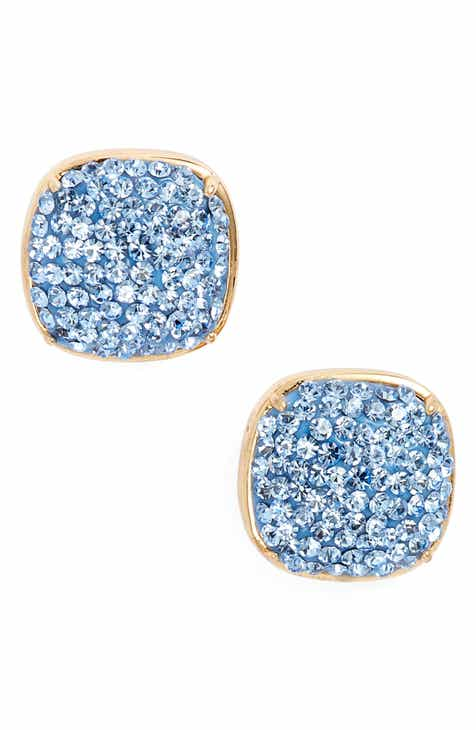 Kate Spade New York Pavé Small Square Stud Earrings