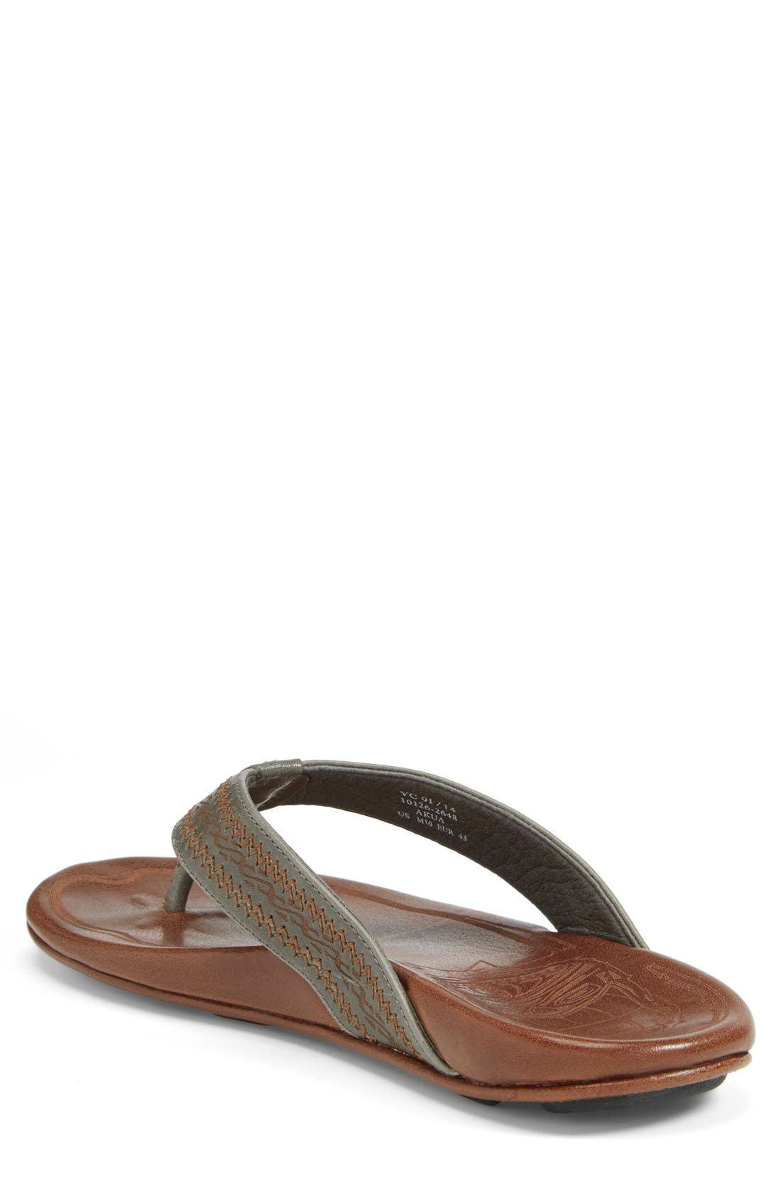 Alternate Image 7  - OluKai 'Akua' Flip Flop (Nordstrom Exclusive) (Men)