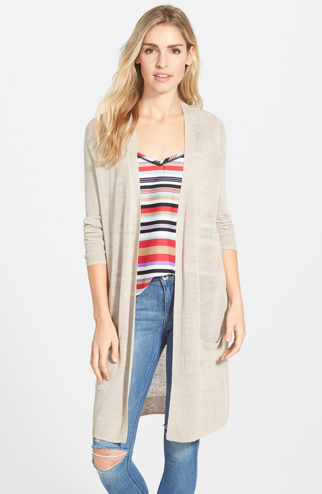Women's Linen Cardigan Sweaters: Long, Cropped & More | Nordstrom ...