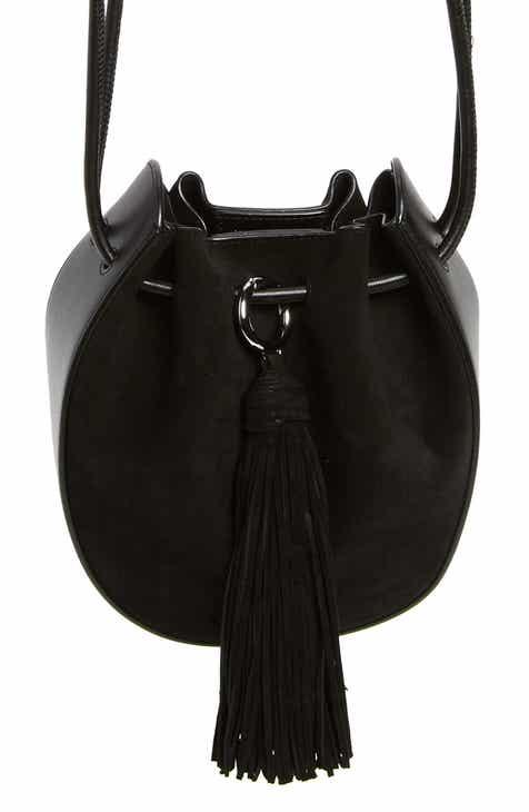 Rebecca Minkoff Lulu Leather Suede Crossbody Bag