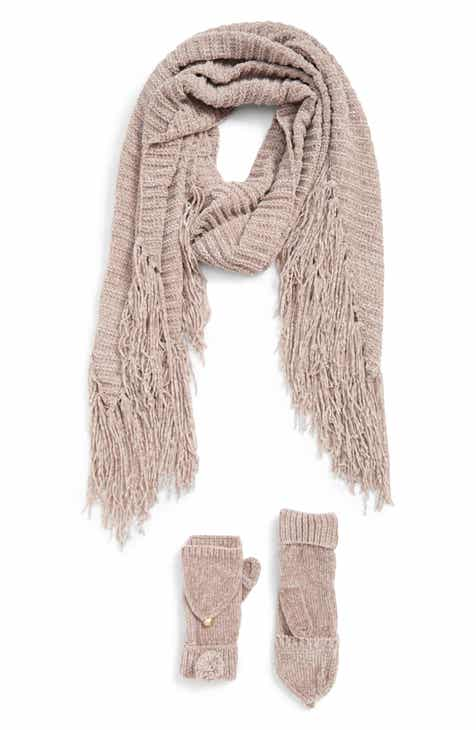45195975f11 Shiraleah Patrice Scarf   Pop Top Mittens Set