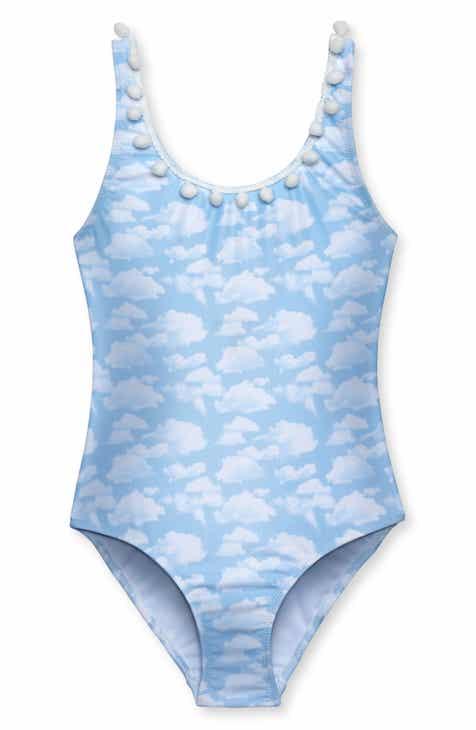 59633f212d Stella Cove Sky Print One-Piece Swimsuit (Little Girls   Big Girls)