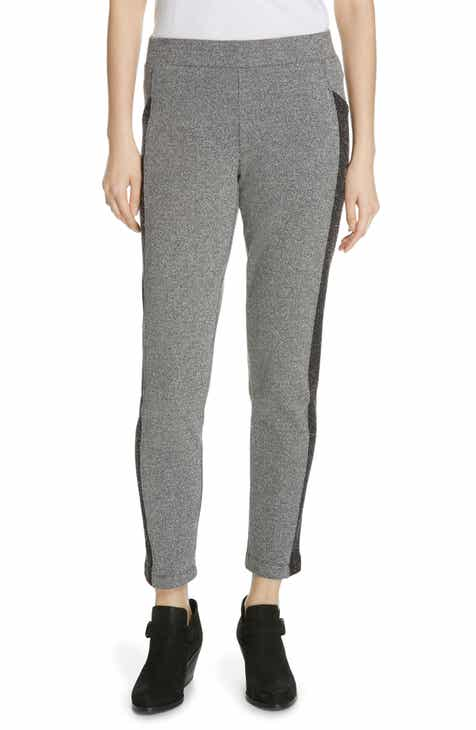 96455b5b677b Eileen Fisher Colorblock Knit Slim Ankle Pants