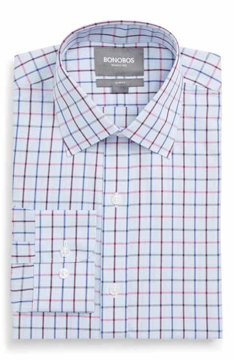 83e53a893df Bonobos Daily Grind Slim Fit Check Dress Shirt