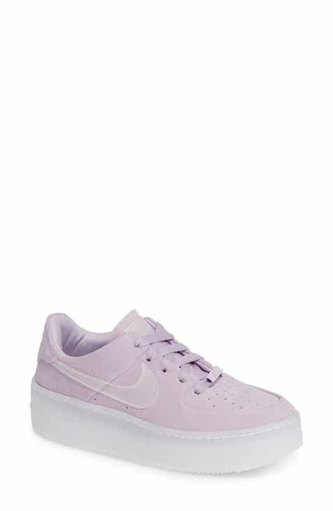 super popular 21f1e 9ecde Nike Air Force 1 Sage Low Platform Sneaker (Women)