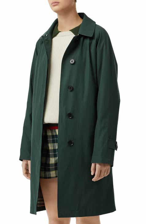 Burberry Camden Cotton Car Coat by BURBERRY