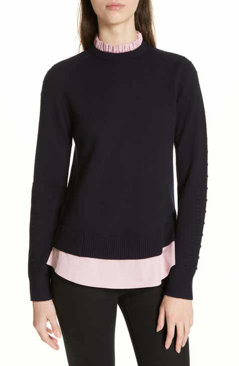 91018a1a352459 Ted Baker London Mock Two-Piece Sweater
