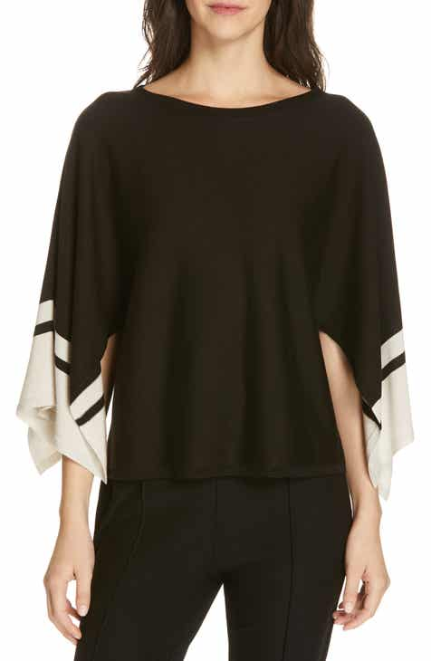 Eileen Fisher Bateau Neck Sweater (Regular & Petite) by EILEEN FISHER