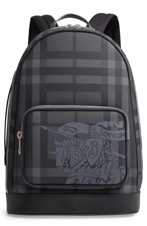 Burberry Rocco London Check Backpack