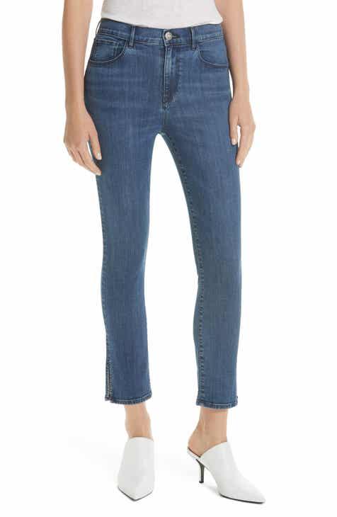 a361faac51da 3x1 NYC Stevie Slit Hem Straight Leg Jeans (Esta)