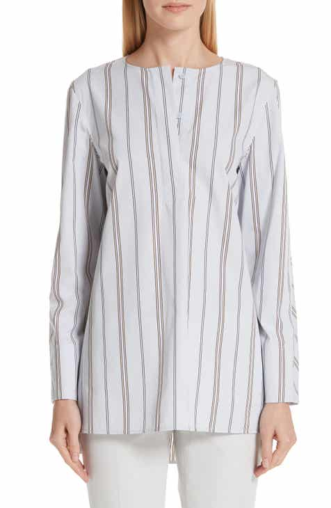 0136bd7193b69 Lafayette 148 New York Tilly Stripe Blouse