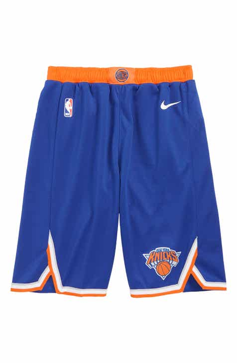 Nike Icon New York Knicks Basketball Shorts (Big Boys)