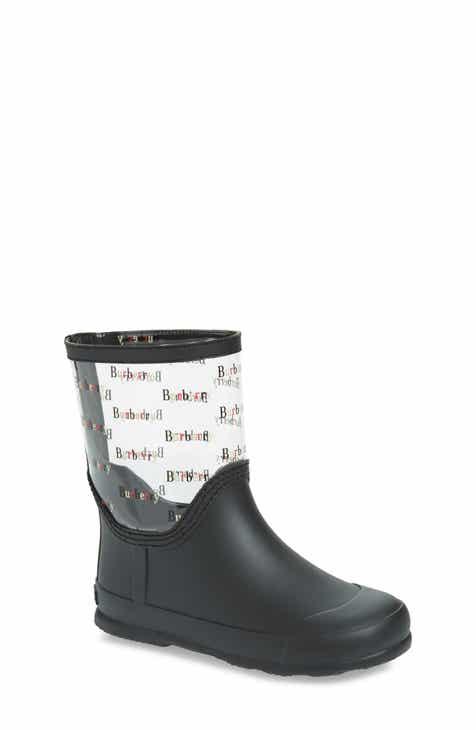 18f8c2fc2b37 Burberry Frosty Waterproof Rain Boot (Toddler   Little Kid)