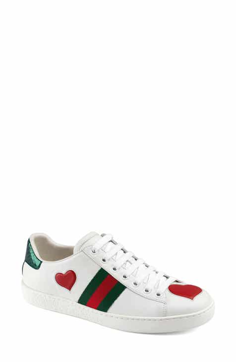 6c9ca63e2e0f Gucci New Ace Heart Sneaker (Women)