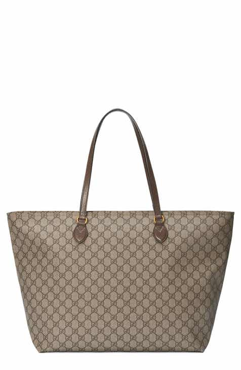 ad0c1de61a2 Gucci Medium Ophidia Soft GG Supreme Canvas Tote