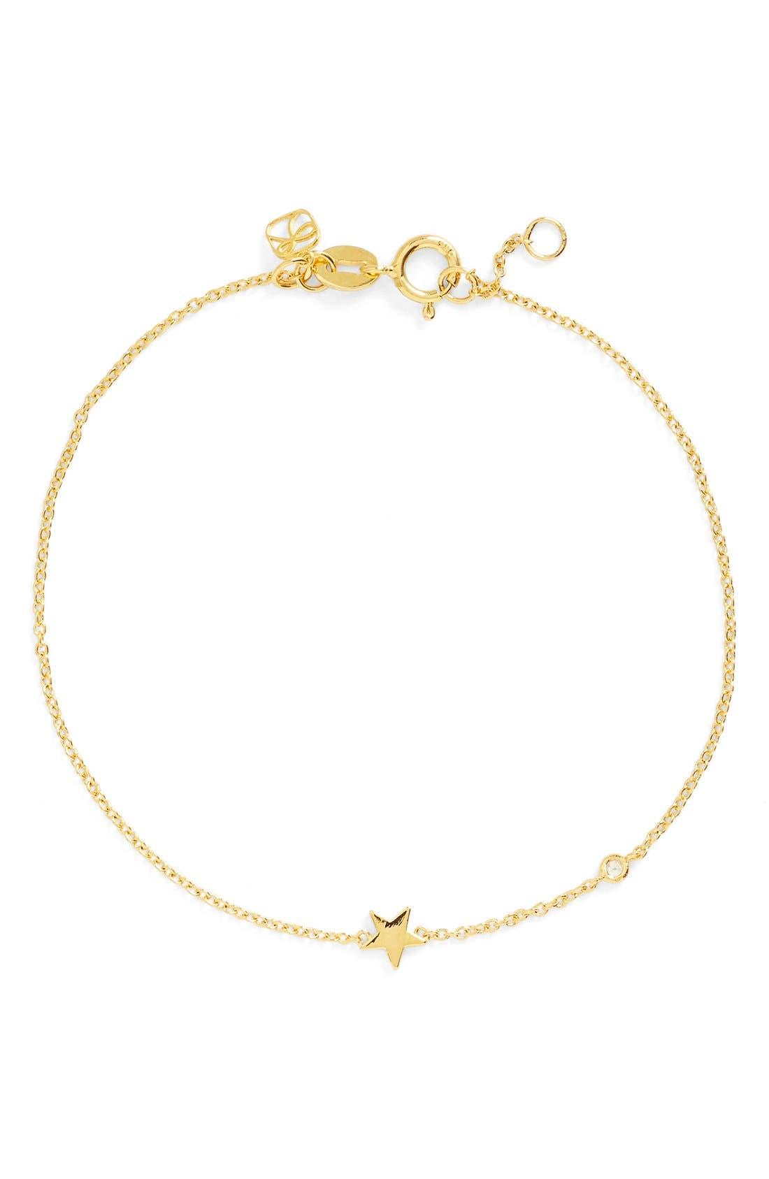 Alternate Image 1 Selected - Shy by SE Star Bracelet