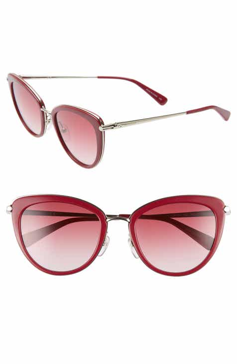 cc98ac1ca0 Longchamp Roseau 54mm Cat Eye Sunglasses.  169.00. Product Image. HAVANA   HAVANA  PURPLE
