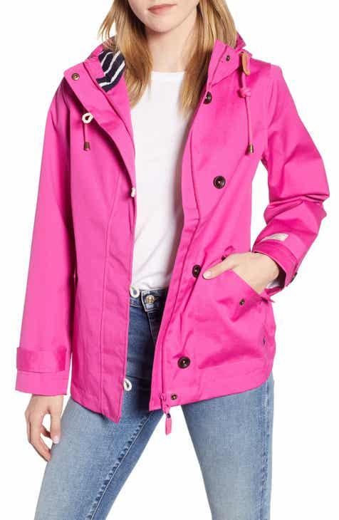 44590edcf293 Women s Pink Rain Coats   Jackets