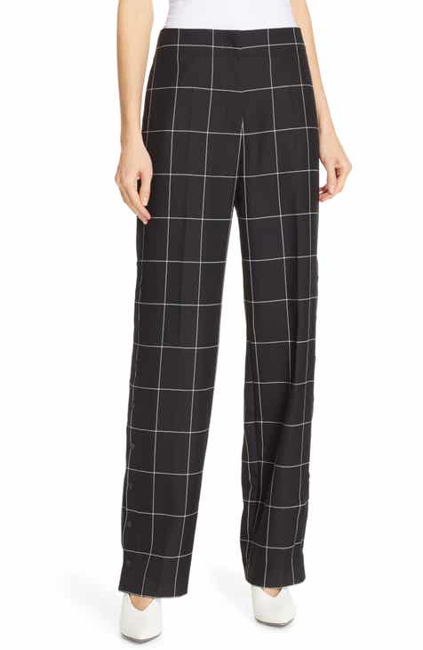 HUGO Hilani Windowpane Trousers by HUGO HUGO BOSS