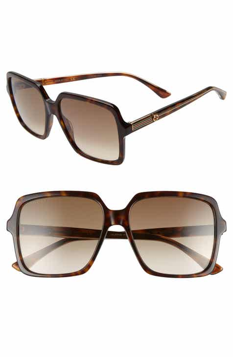 84a50d1d4e296 Gucci 56mm Square Sunglasses