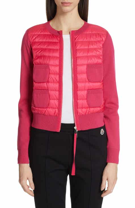 Moncler Quilted Down Front Cardigan By MONCLER by MONCLER Great price