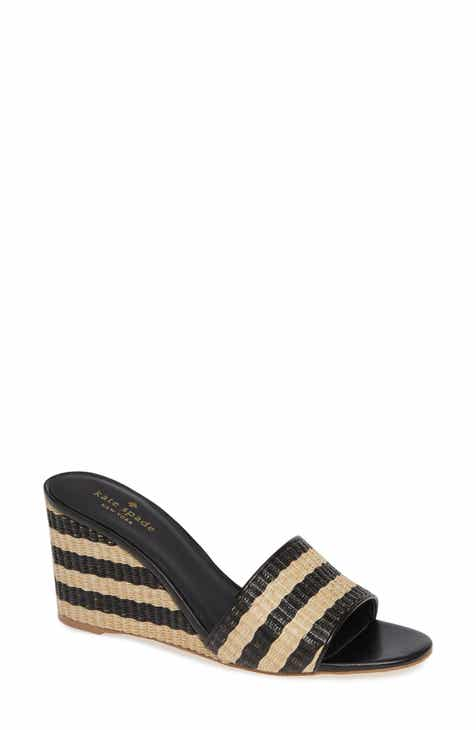 09207f69e105 kate spade new york linda wedge slide sandal (Women)