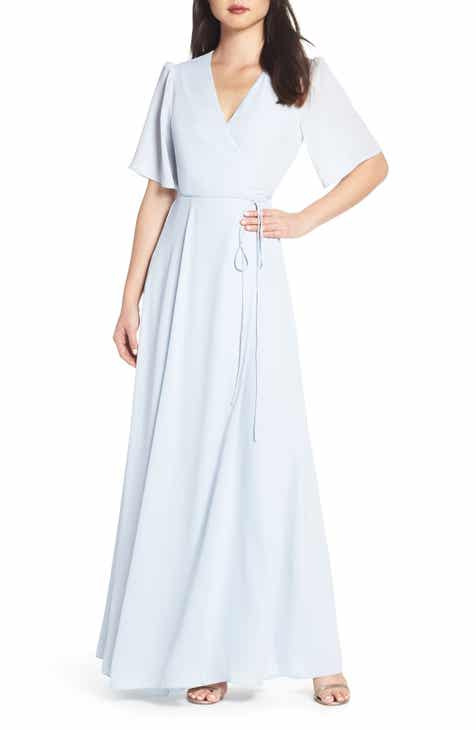 Katie May Reconcile Side Slit Column Gown by KATIE MAY