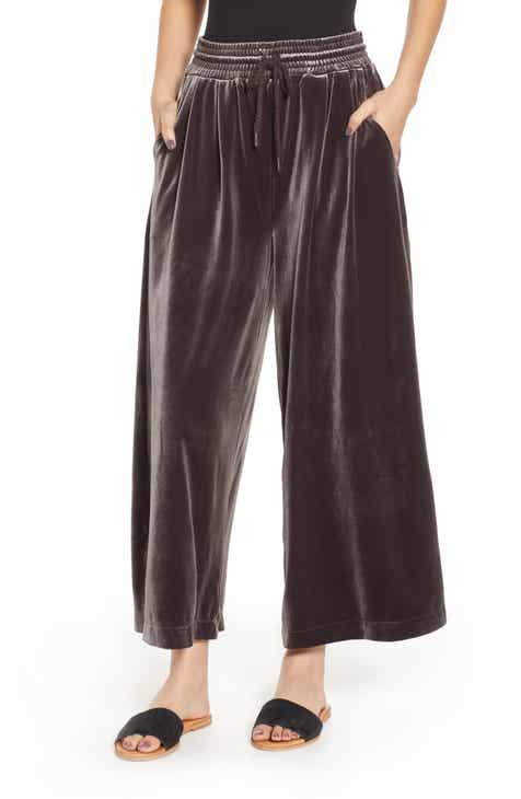 c2cae8d786b Madewell Huston Stretch Velvet Crop Pants