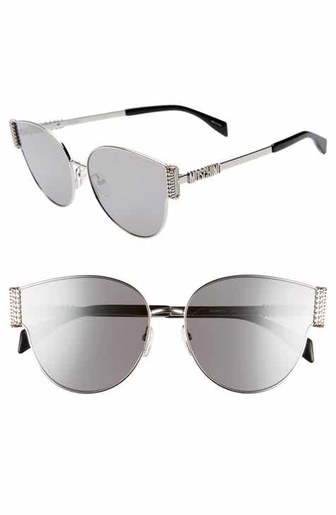 8485ac84d6 Moschino 61mm Special Fit Cat Eye Sunglasses