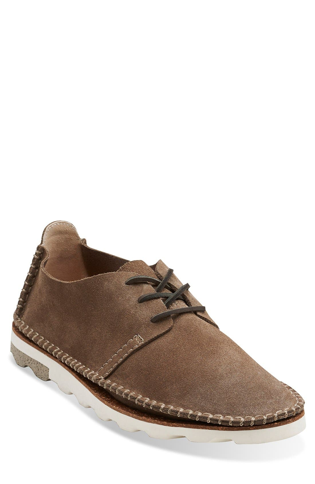 Main Image - Clarks® 'Dakin Walk' Suede Plain Toe Derby (Men)
