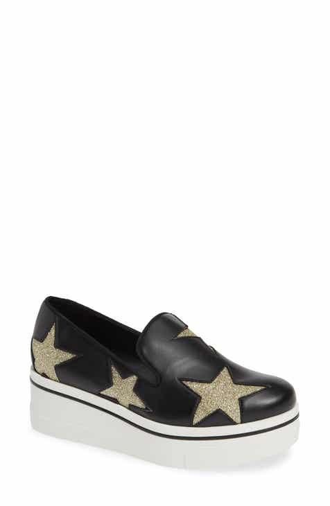 9a48cafd9be Stella McCartney Binx Stars Slip-On Platform Sneaker (Women)