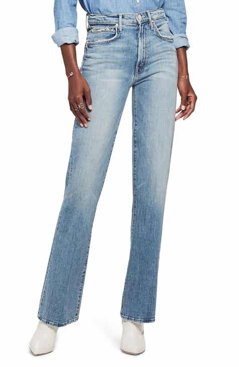 MOTHER Desperado Bead Stripe Raw Hem Jeans (Secret Sister) 44ccb41d84d4