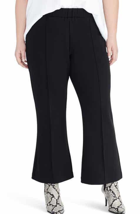 45805f92246 Rachel Roy Collection Crepe Back Scuba Pants (Plus Size)
