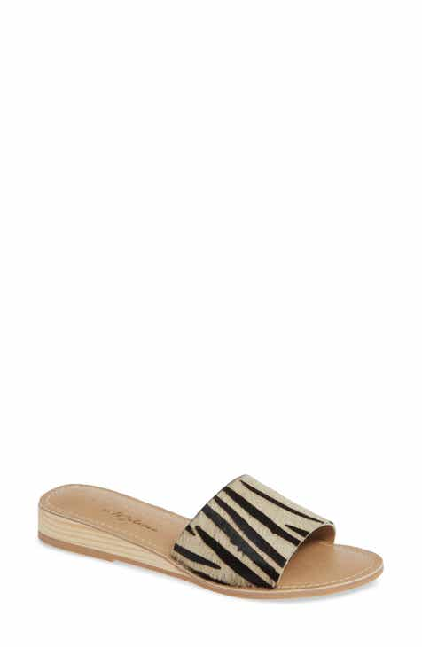 ab148109c6204 Coconuts by Matisse Tiki Genuine Calf Hair Slide Sandal (Women)