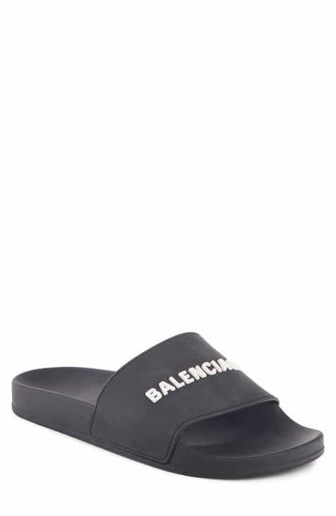157164ee85b Balenciaga Logo Slide Sandal (Men)