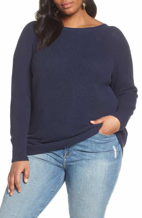 2c625bb16f58 Halogen® Cross Back Sweater (Plus Size)