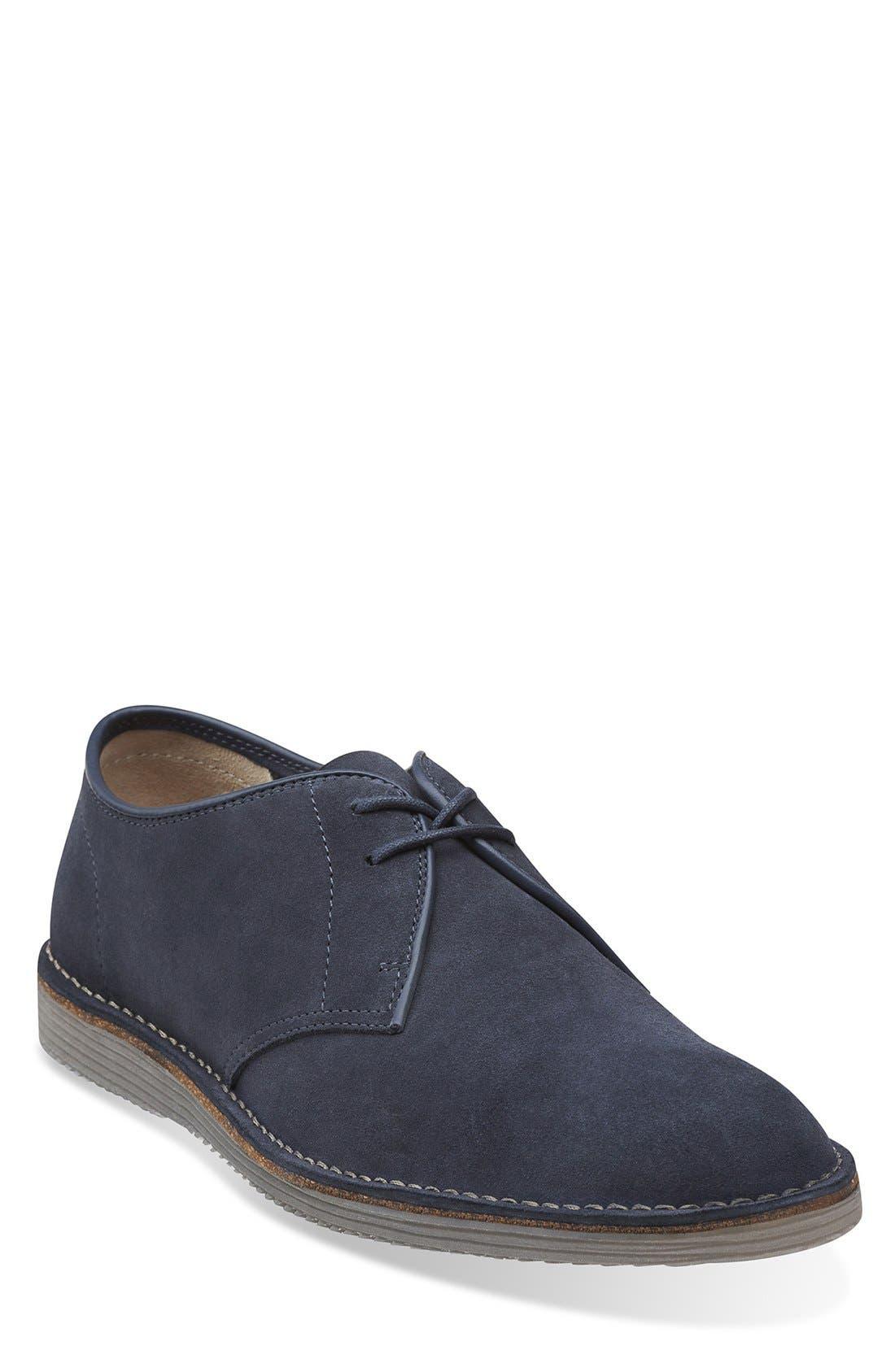 Main Image - Clarks® 'Darning Walk' Suede Buck Shoe (Men)