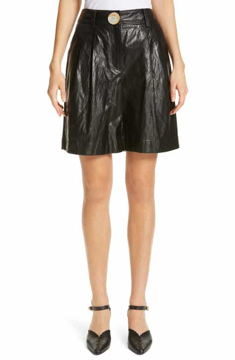 Rejina Pyo Renee Faux Leather Shorts by REJINA PYO