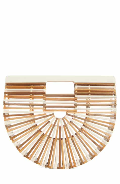 Cult Gaia Small Ark Bamboo Handbag