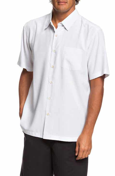 Quiksilver Waterman Collection Cane Island Regular Fit Camp Shirt 4efc16fcc36