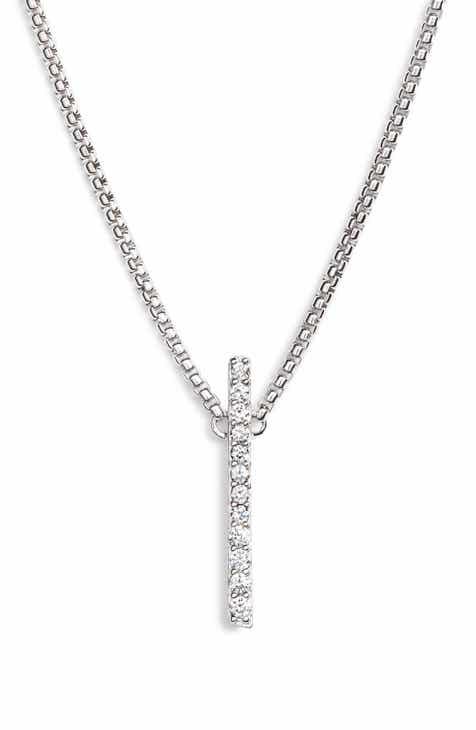 3f15f8065 Nadri Ripple Bar Necklace. $45.00. Product Image. YELLOW GOLD/ DIAMOND