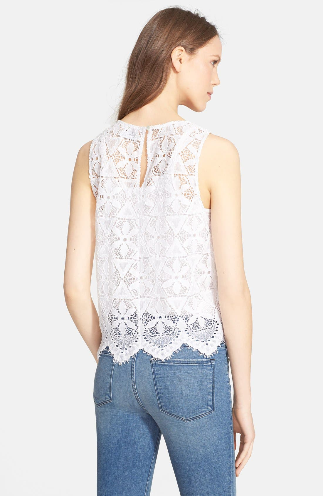 Alternate Image 2  - Frame Denim 'Le Lace' Tank