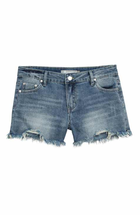 Tractr Cutoff Denim Shorts (Big Girls)